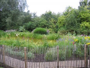 Onderhoud landelijke tuin